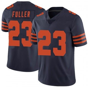 Men's Chicago Bears Kyle Fuller Navy Blue Limited Alternate Vapor Untouchable Jersey By Nike