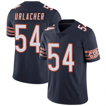 Youth Chicago Bears Brian Urlacher Navy Limited Team Color Vapor Untouchable Jersey By Nike