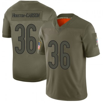 Youth Chicago Bears DeAndre Houston-Carson Camo Limited 2019 Salute to Service Jersey By Nike