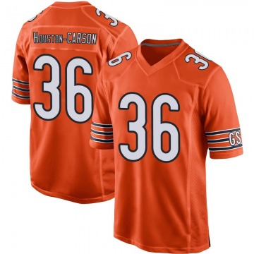 Youth Chicago Bears DeAndre Houston-Carson Orange Game 100th Season Jersey By Nike