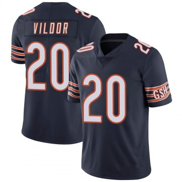 Youth Chicago Bears Kindle Vildor Navy Limited 100th Season Jersey By Nike