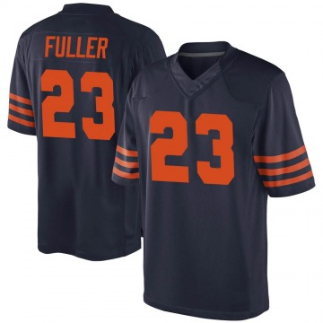 Youth Chicago Bears Kyle Fuller Navy Blue Game Alternate Jersey