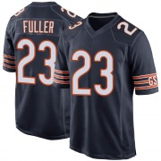 Youth Chicago Bears Kyle Fuller Navy Game 100th Season Jersey By Nike