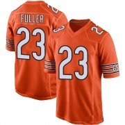 Youth Chicago Bears Kyle Fuller Orange Game 100th Season Jersey By Nike