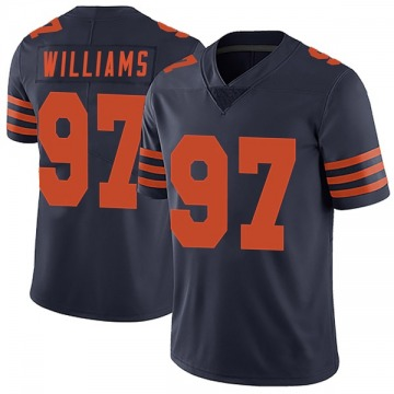 Youth Chicago Bears Nick Williams Navy Blue Limited Alternate Vapor Untouchable Jersey By Nike
