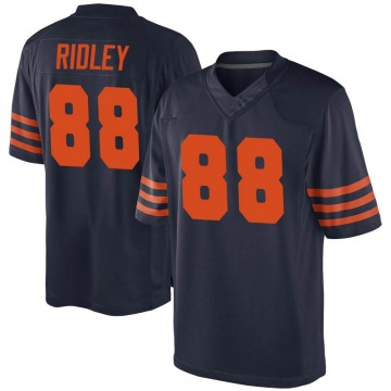 Youth Chicago Bears Riley Ridley Navy Blue Game Alternate Jersey By Nike